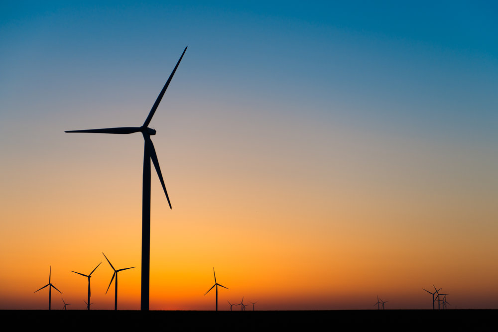Turbines at Dawn # 2 by Pete McCutchen