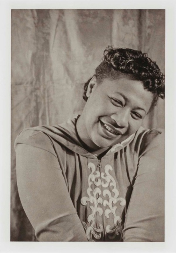 Carl Van Vechten, Ella Fitzgerald, from the unrealized portfolio Noble Black Women: The Harlem Renaissance and After, 1940, printed Richard Benson 1983, hand-printed photogravure, Smithsonian American Art Museum, Transfer from the National Endowment for the Arts. Photograph © Van Vechten Trust; Compilation/Publication.