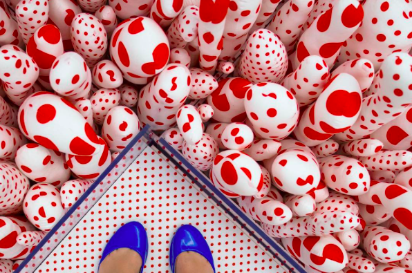 INSTAGRAM OF THE MONTH: Our feed has been filled with all your Infinite Kusama shots. We love the colors and perspective in this shot from @rchilt! Don't forget to tag all your Instagram with #FotoDC for a chance to be featured on our feed for even be next month's Instagram of the month!