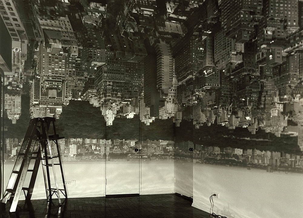 Image credit:Abelardo Morell,  Camera Obscura Image of Manhattan View Looking West in Empty Room , 1996, Smithsonian American Art Museum, © 1996