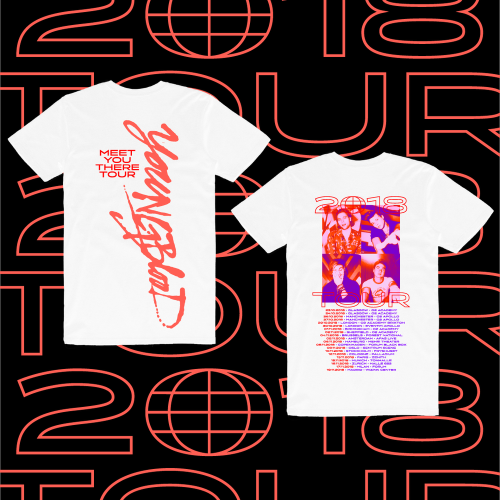 2018 Meet You There Tour Shirts
