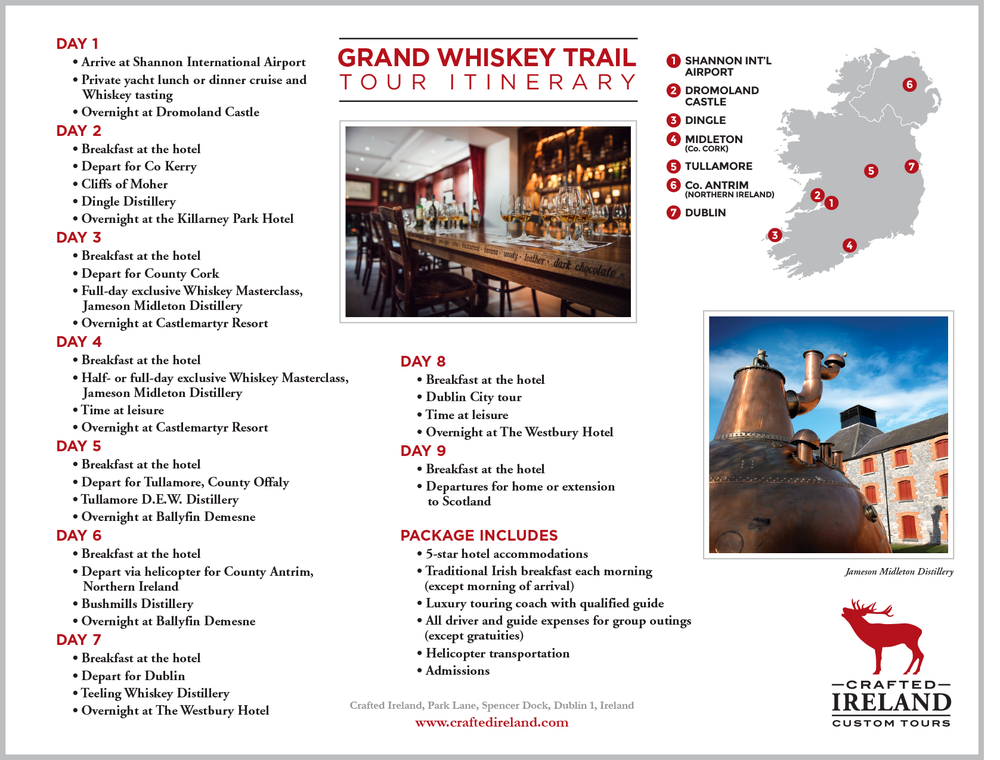 SAMPLE ITINERARY