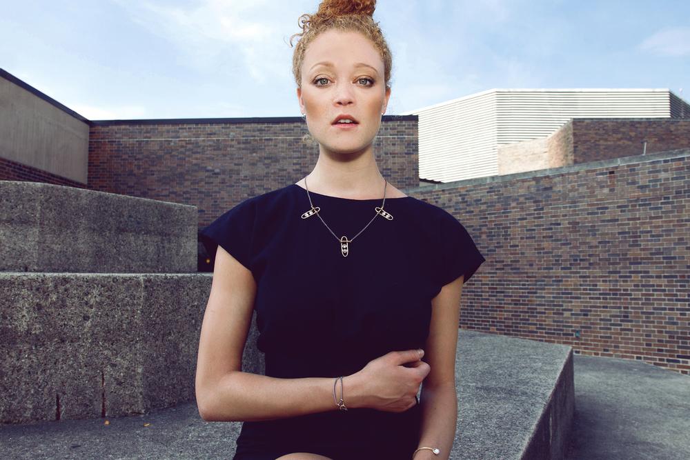ACRUX: LEAH BALL FW14 LOOK BOOK Model: Elanor Bock Styling: Leah Ball & Chelsea Ross Hair/MUA: Chelsea Ross
