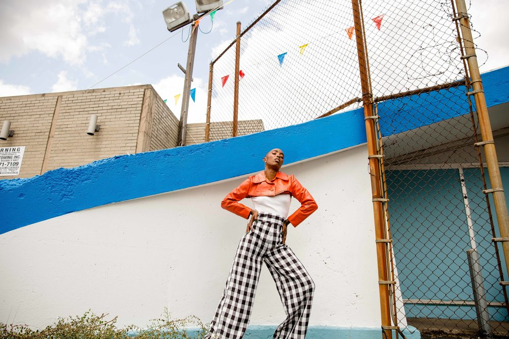 The Look Authority Summer 2018 Lookbook, juxtaposing historic architecture and places along 79th Street in Chatham with contemporary fashion and styling. Styled by Sal. MUA Yvette Duro. Muse Fer.