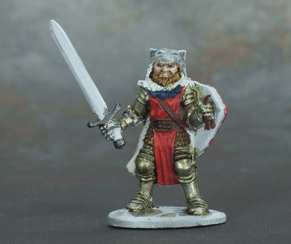 Barbarian wolf warrior...