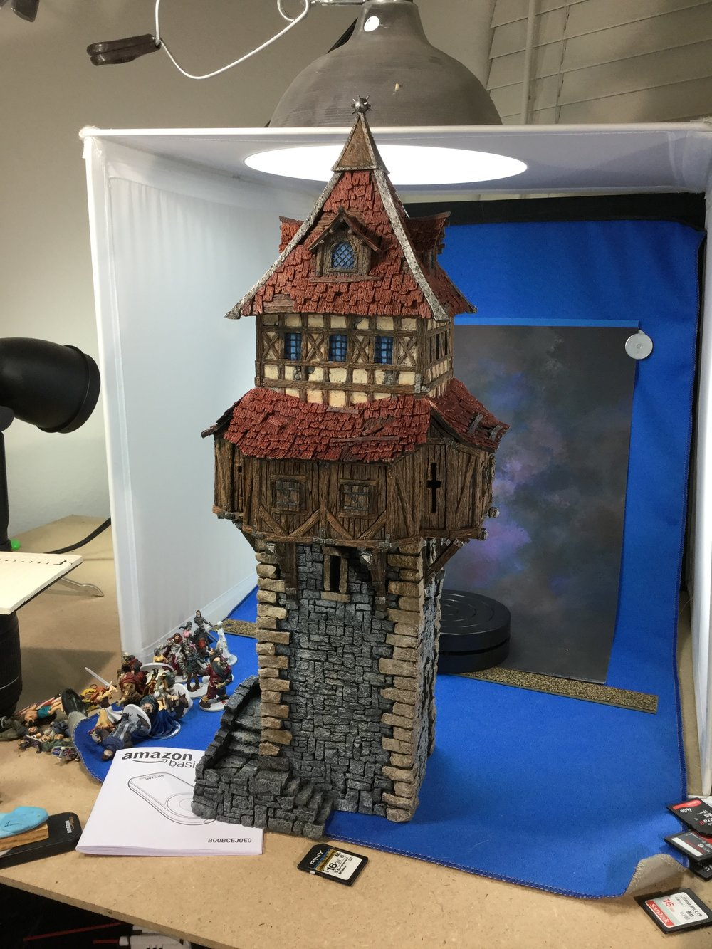 The watchtower. This thing is Beautiful!  I totally want one.