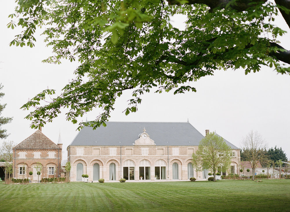 Exterior of Chateau de Varrenes and its grounds; Sylvie Gil Photography
