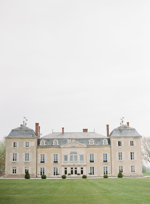 Chateau de Varennes exterior; Sylvie Gil Photography