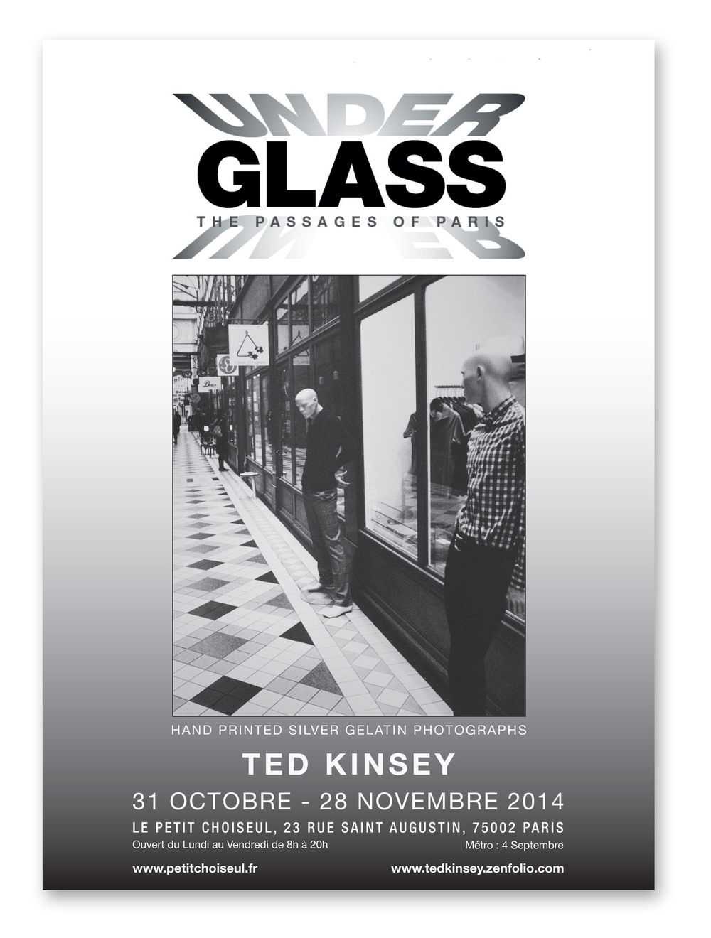 Under Glass Poster