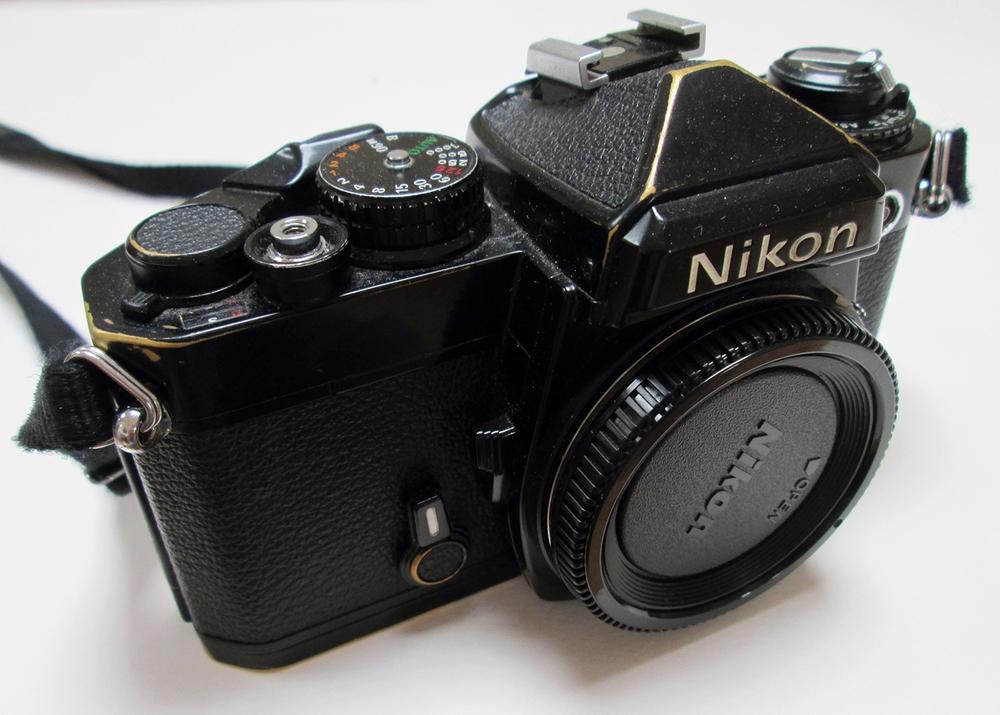 RIP  my Nikon FE...