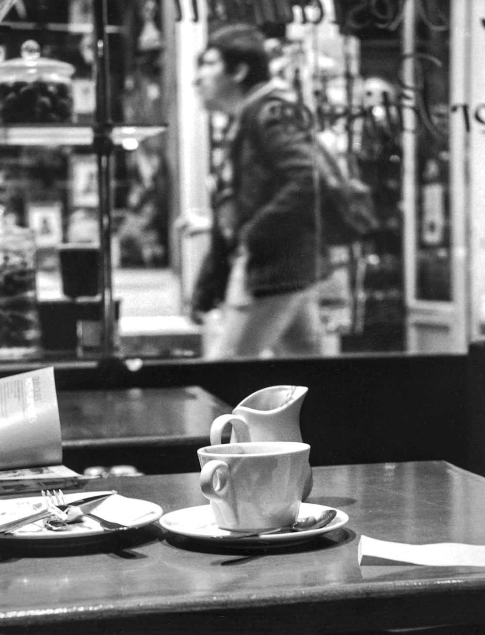 Coffee in Le Valentin  Passage Jouffroy