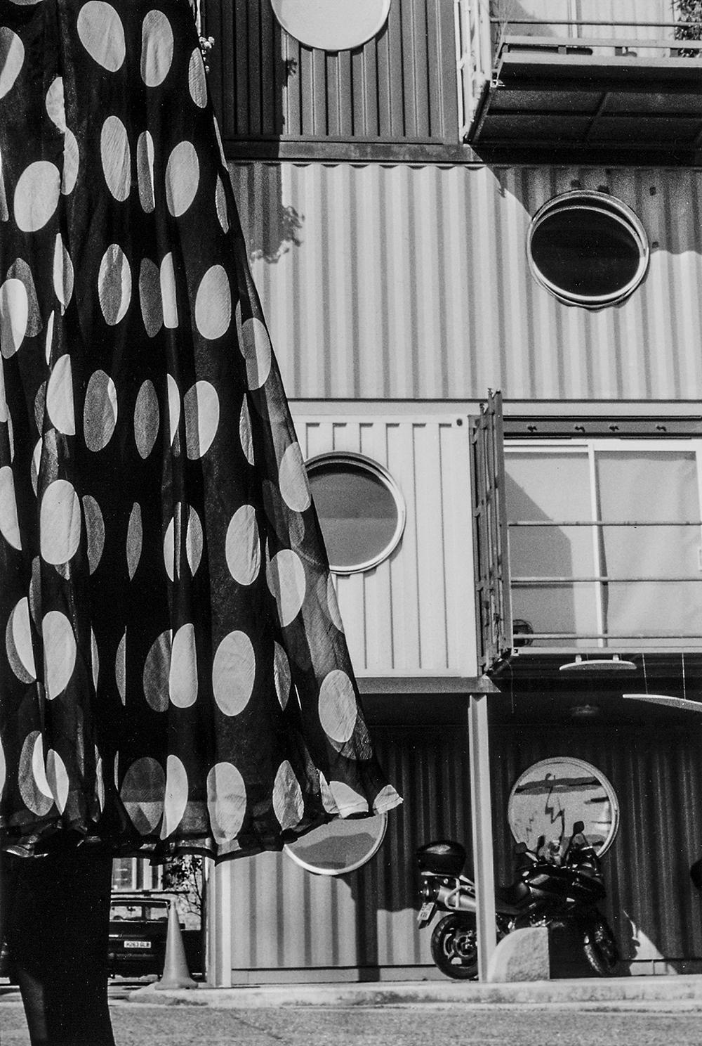 Polka Dots   Susan  –  Container City, E14