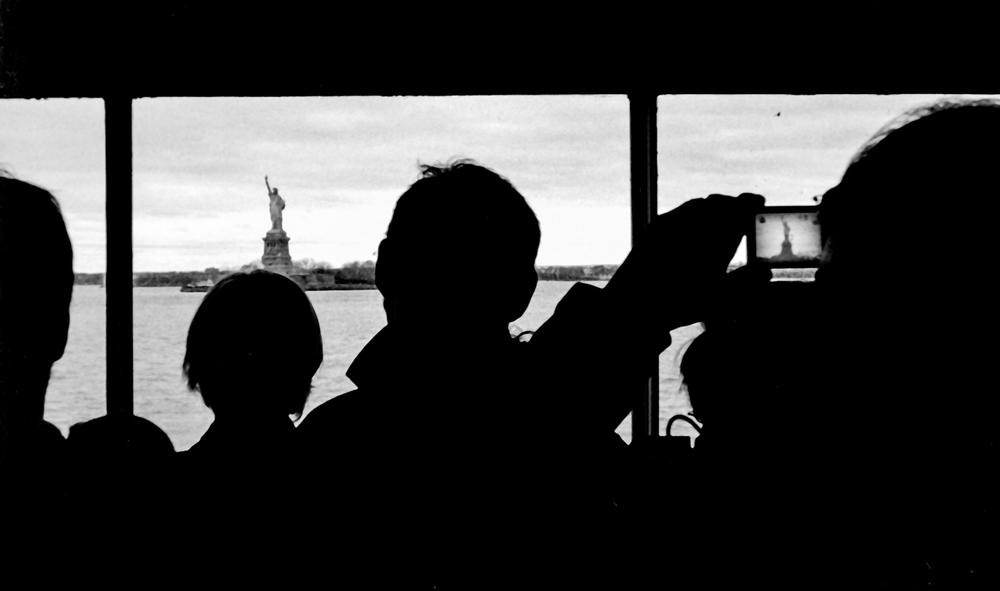 Lady Liberty – on digital, on film