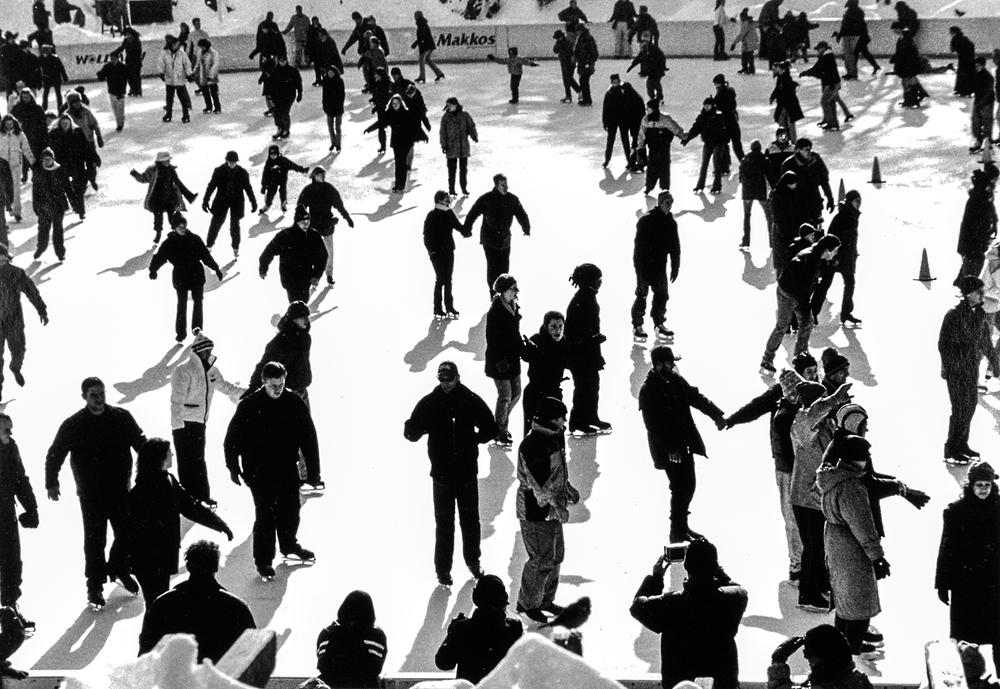 Skaters, Central Park