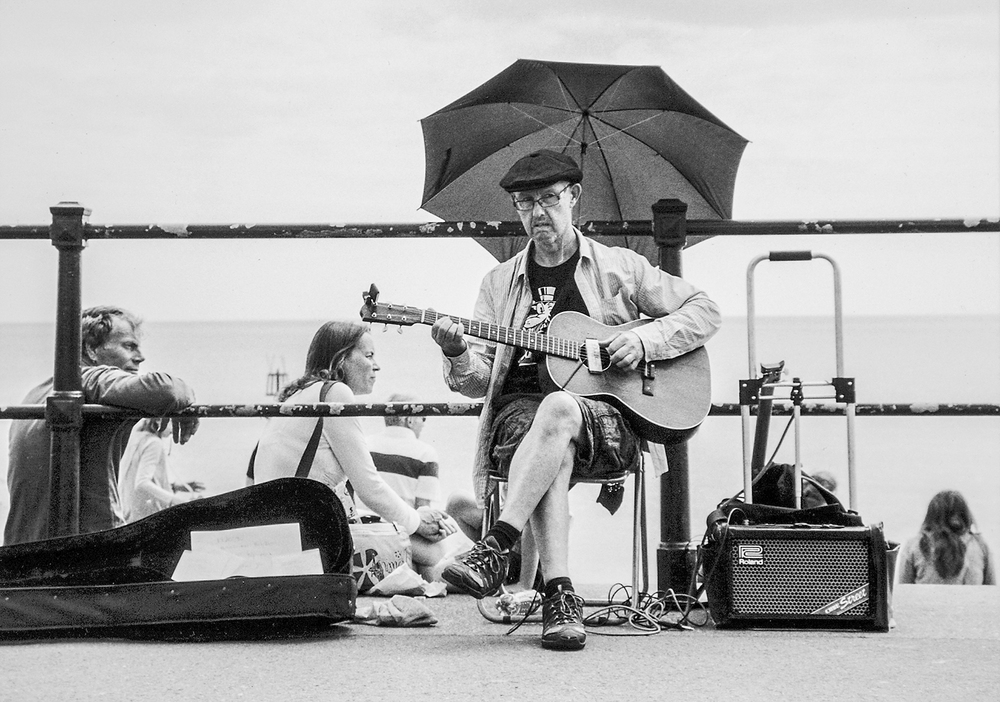 Busker, Sidmouth