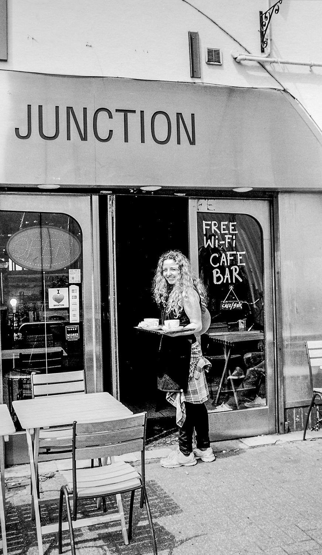 Café Girl  Loughborough Junction Station SE5