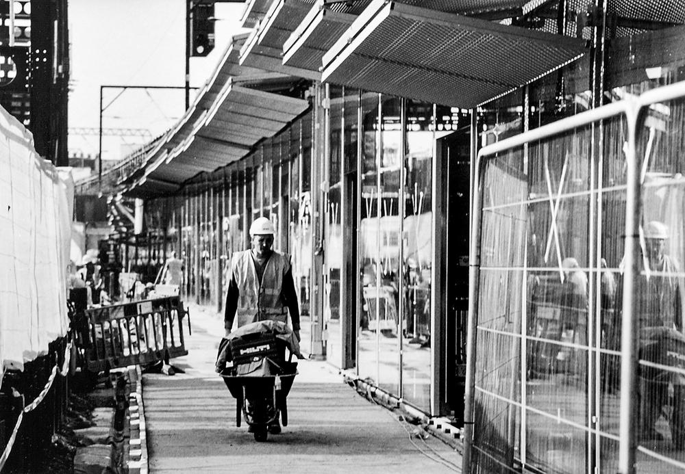 Regeneration...  Hackney Fashion Hub, Morning Lane E9