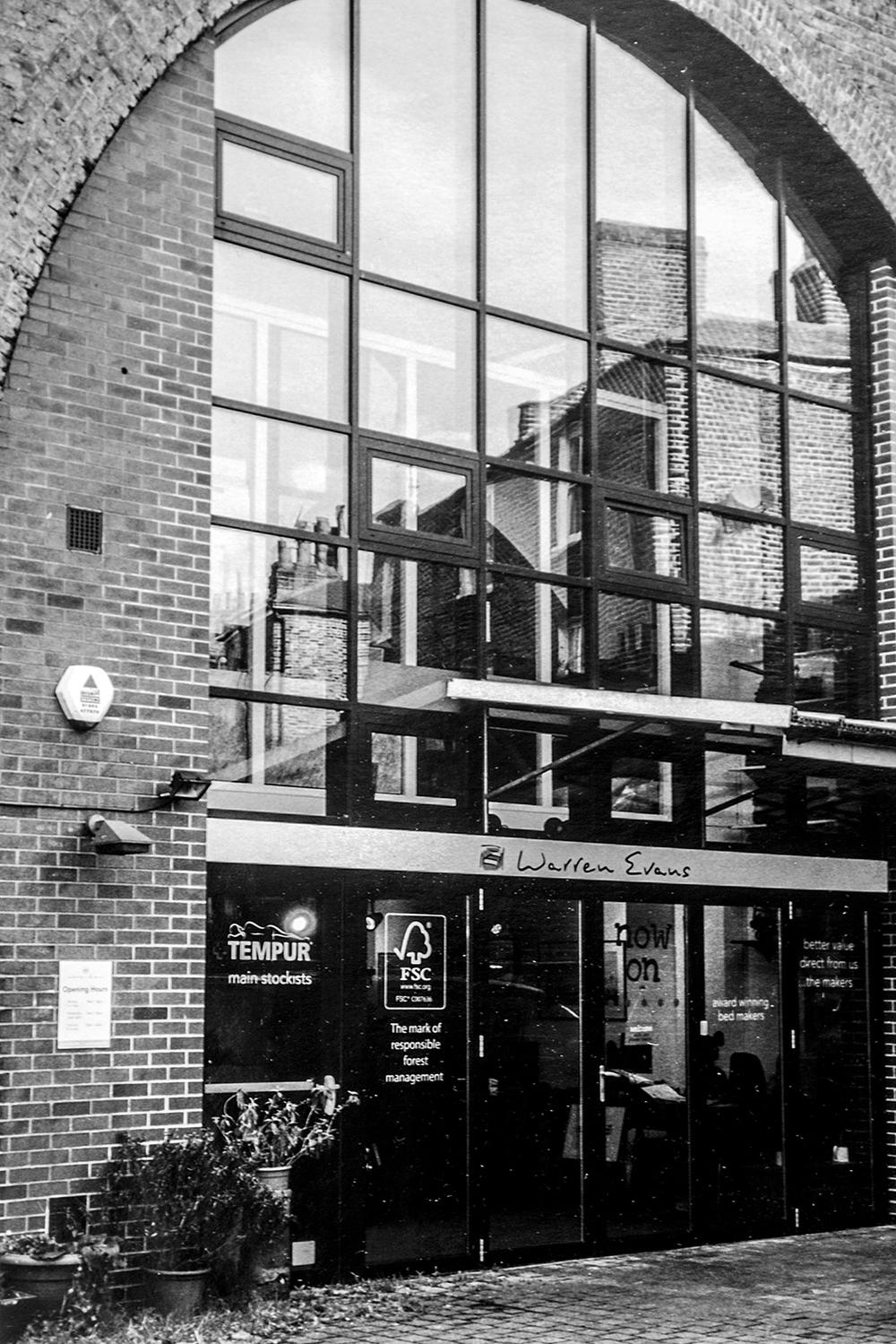 Warren Evans furniture showroom  Prowse Place, Camden NW1