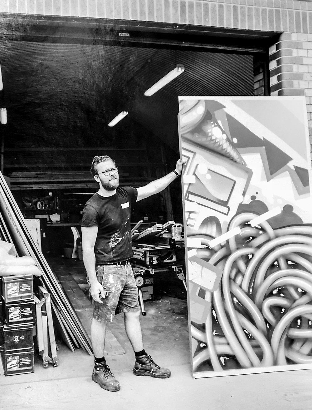 Nick –props maker  Rule One Productions, Tilbury Road, Leyton Midland Road E10