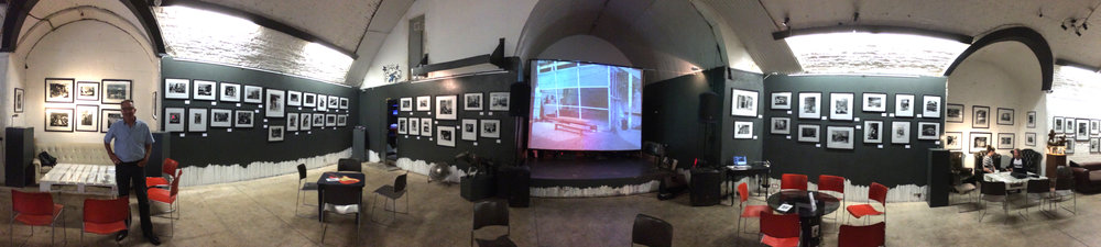 The Under Tracks Exhibition at The Underdog Gallery, London Bridge