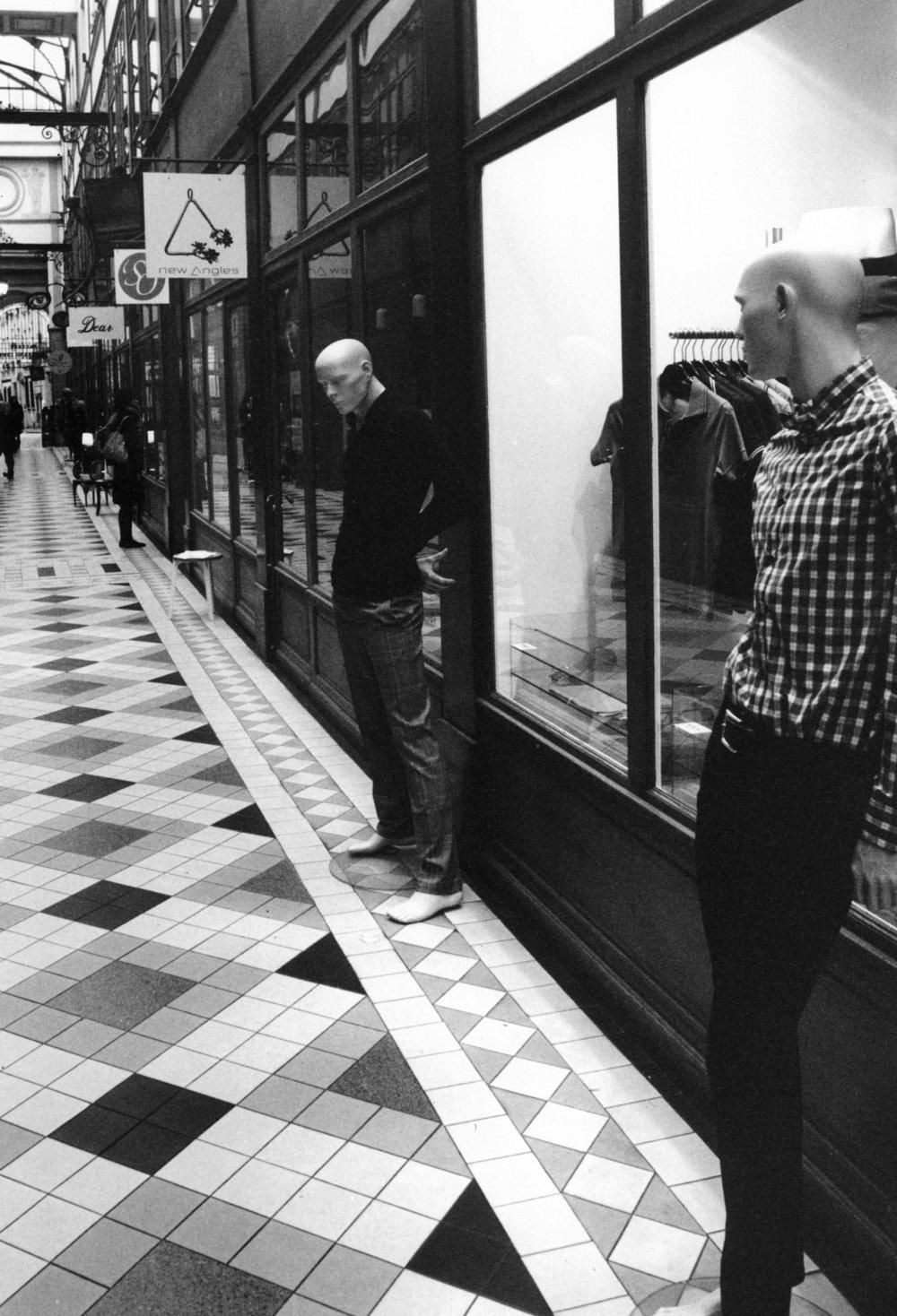 Reflections  Passage Jouffroy