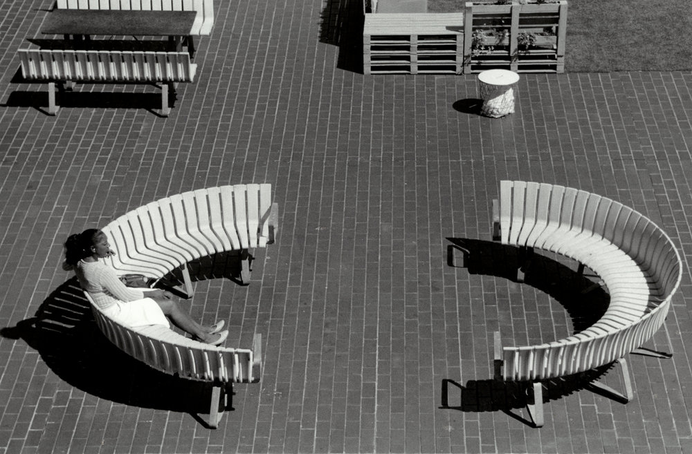 Bench, The Barbican