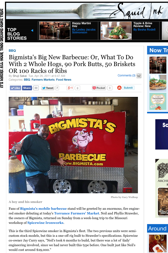 Bigmista's Big New Barbecue: Or, What To Do With 2...