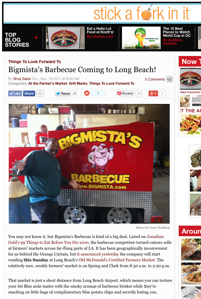 Bigmista's Barbecue Coming to Long Beach!