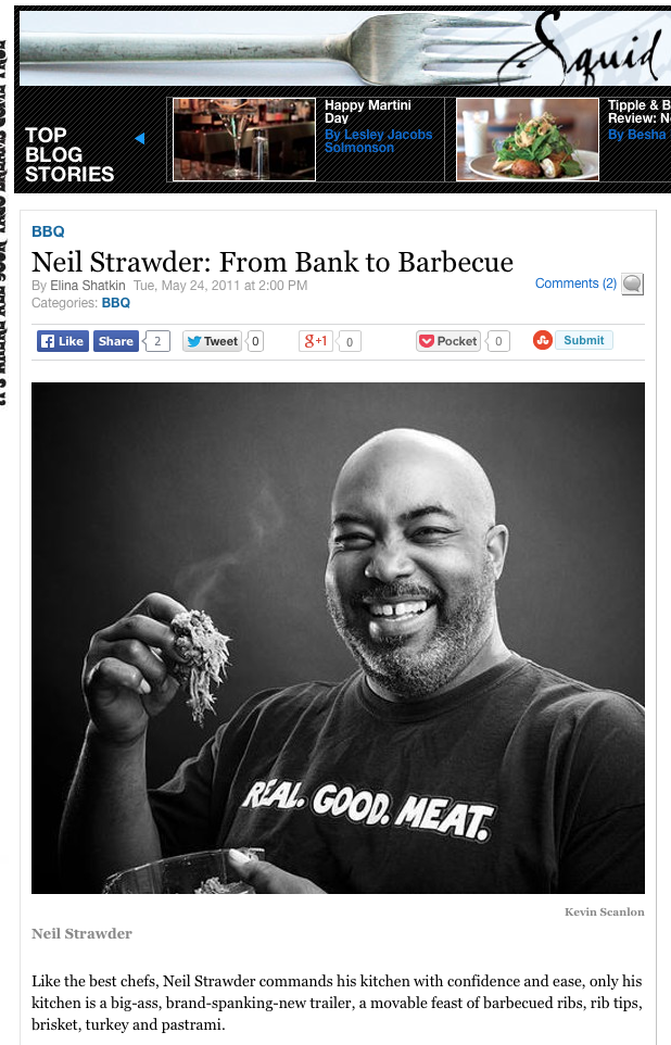 Neil Strawder: From Bank to Barbecue