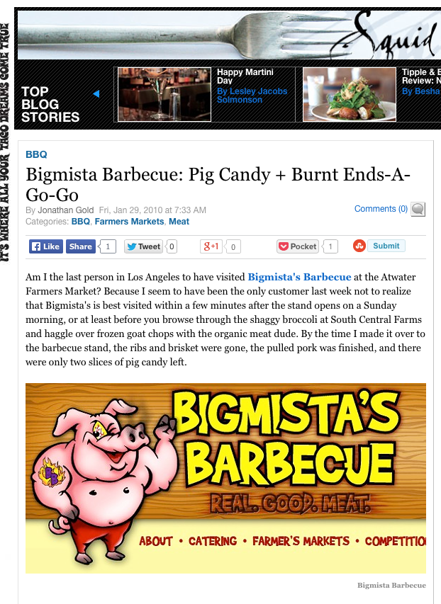 Bigmista Barbecue: Pig Candy + Burnt Ends-A-Go-Go