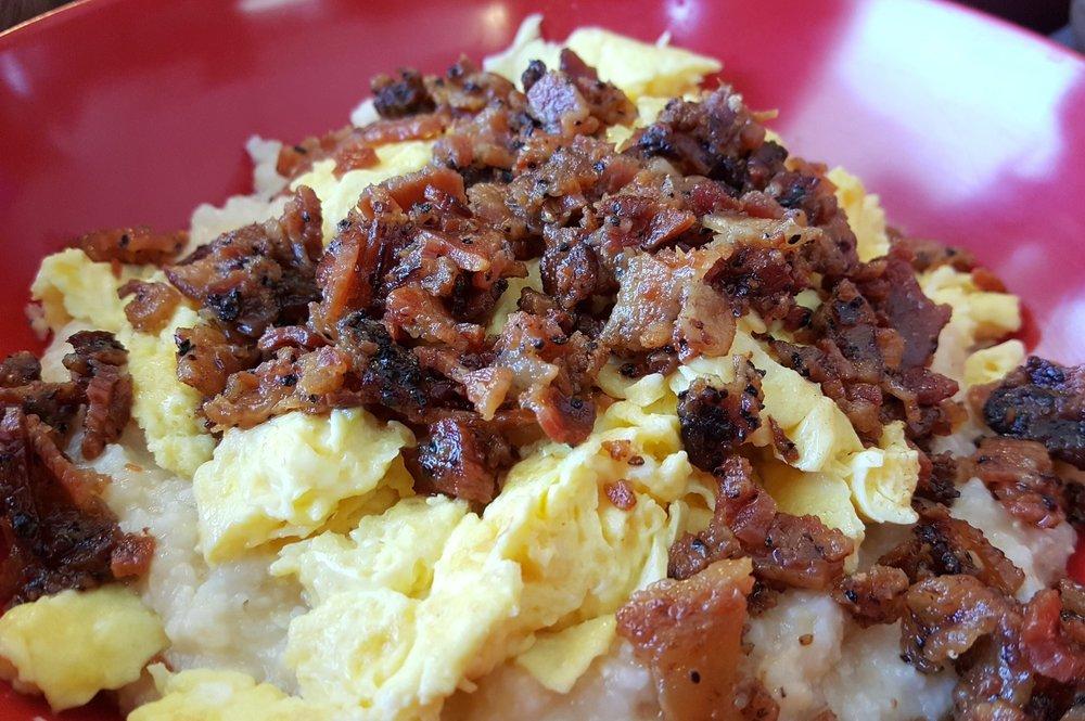 bacon breakfast bowl