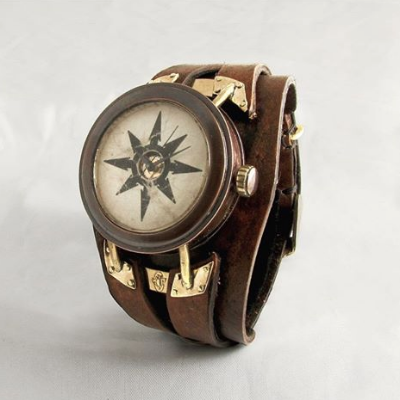What is time without chaos?  Exquisite Corpse Boutique's steampunk chaos watch.