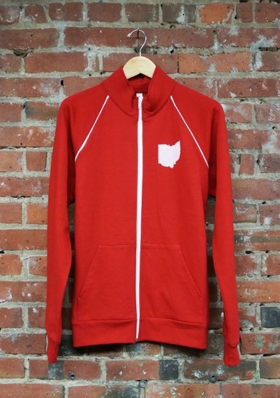 Ape Made--Ohio State Track Jacket