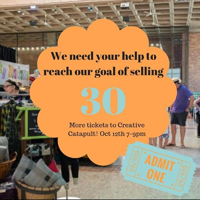 We are close but still need your help! Our goal is to get 75 members of our community to come to Creative Catapult to support local artisans in their business ventures! We only need 30 more people to purchase tickets to be apart of this event and awarding a local maker with $2,000. 💥Top 3 reasons you should buy tickets for Creative Catapult 💥 1) Your vote can directly help a creative entrepreneur in Akron 2) You're investing in your creative community  3) You get to take home a handmade bowl from Tindercraft (local artisan!) after you eat a delicious bowl of soup catered by Urban Eats Cafe (local small business!) Buy your tickets here!  General Admission: https://ticketstripe.com/ccatapultGA VIP: https://ticketstripe.com/ccatapultVIP  #akron #supportlocal #creative  The Bit Factory Tindercraft Ceramics