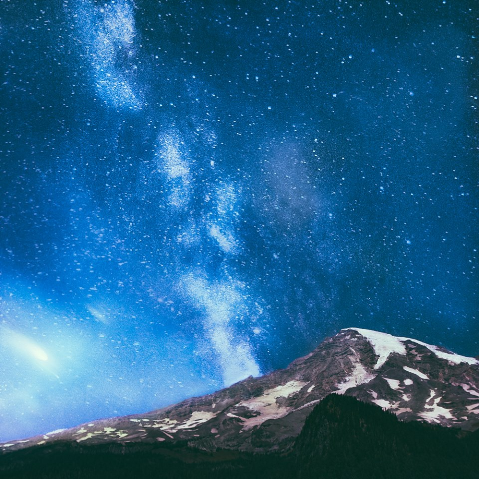 Mt Rainier Stars