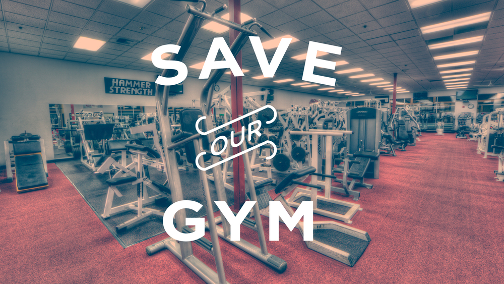 Save Our Gym Title