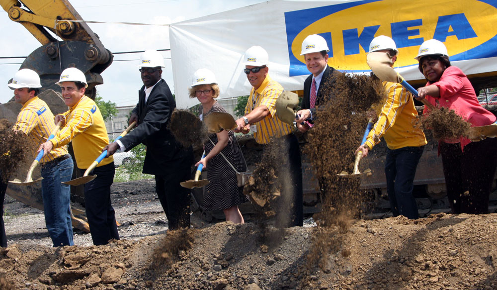 IKEA @ Forest Park and Vandeventer groundbreaking