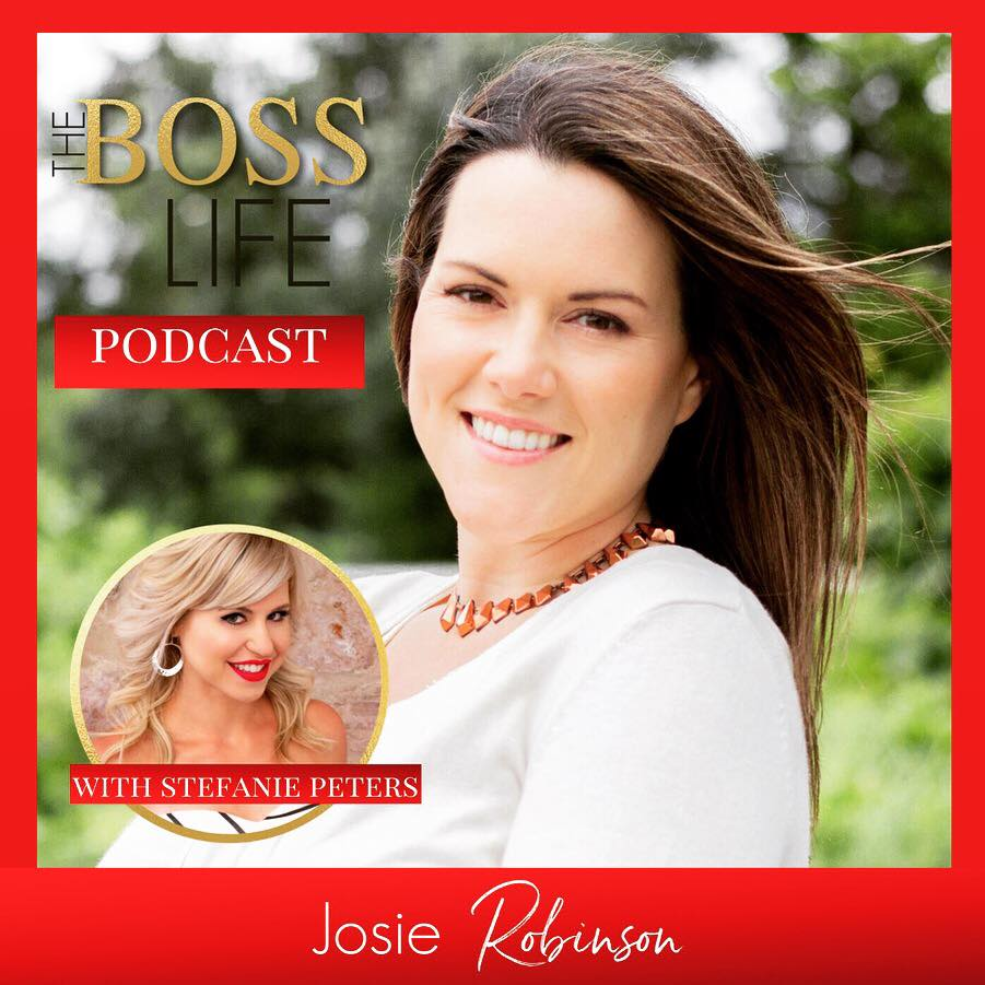 Listen to my inspirational and sometimes funny stories of gratitude on the Boss Life Podcast with Stefanie Peters. #gratitude #ladyboss #holisticliving #justbreathe