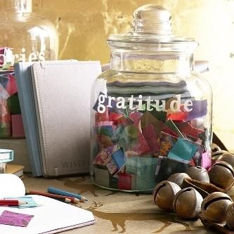 Full of Gratitude Jar - Wisteria
