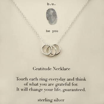 Gratitude Necklace - Giving Tree Gallery