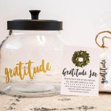 Gratitude Jar Gift Set - Etsy
