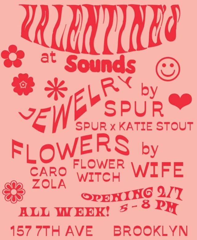We have vessels for sale @shopsounds this Thursday! Flowers and gifts for lovers and friends and yourself