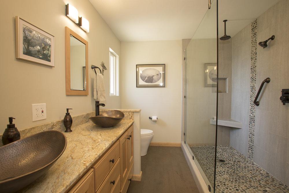 Bathrooms Kirby Wilkerson Licensed General Contractor Santa Rosa CA - Bathroom remodel santa rosa ca