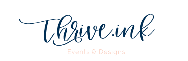 Thrive.ink Event Planning and Wedding Coordination