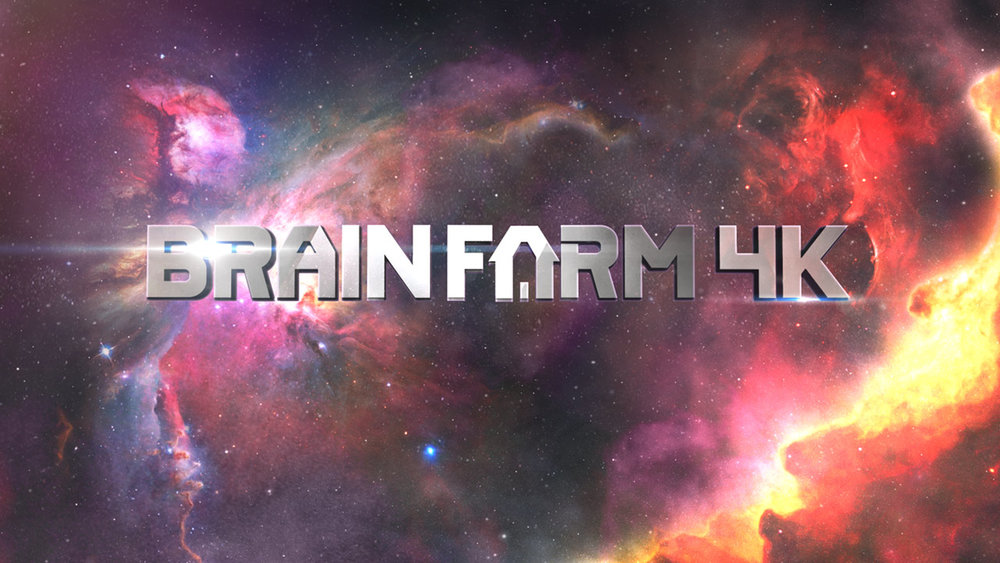 Brainfarm BRAINFARM 4KTitle Sequence | Design & Animation VIEW