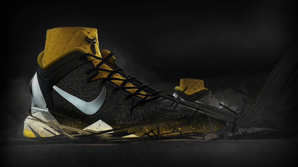 Nike    KOBE VII   In-Store Display | Compositing   VIEW