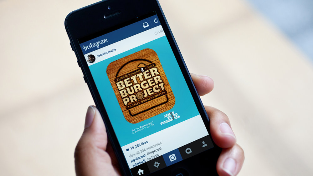 James Beard Foundation    BETTER BURGER PROJECT  Social Media Promotion & Campaign | Design & Animation   VIEW