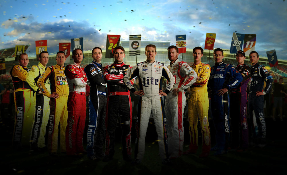 ESPN    NASCAR SPRINT CUP  Live Event & Broadcast | Design & Animation   VIEW