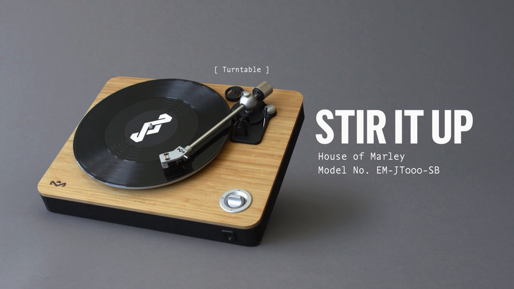House of Marley    Stir it up turntable Product Video & Commercial | Editorial, Design & Animation   View