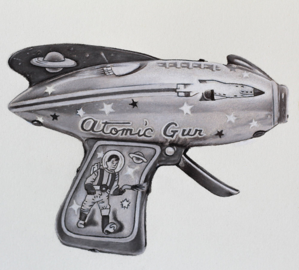 Atomic Space Gun #2 (Detail)